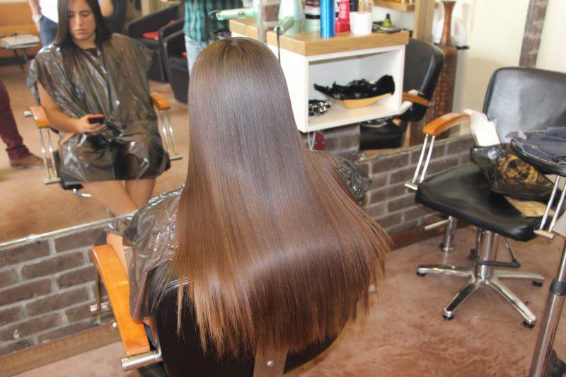 החלקת שיער צרפתית